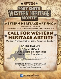Fort Smith Western Heritage Art Show